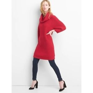 GAP Red Apple color sweater holiday dress